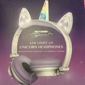 ART & SOUND GLAM UNICORN HEADPHONES